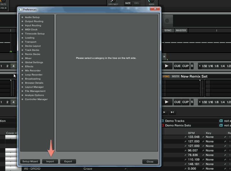 Preferences-import-button-Traktor