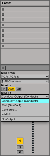 Select-conductr-output