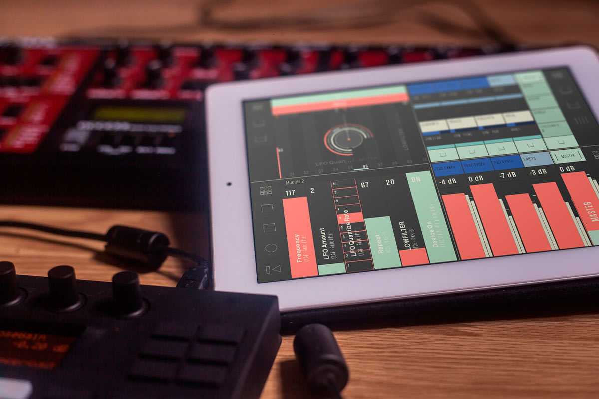 XY-4Dpad | CONDUCTR Free Ableton Live Controller for iPad